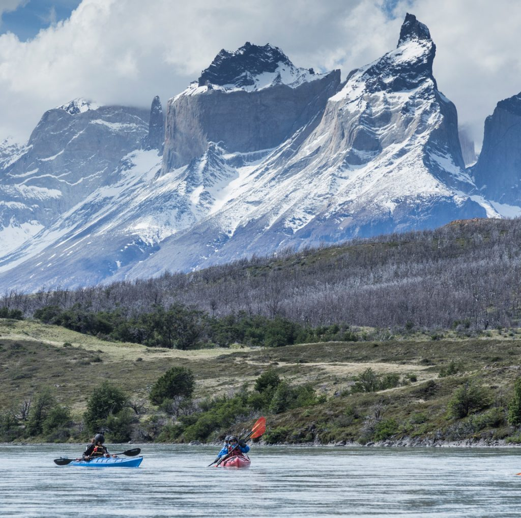 grey river kayak trips in patagonia