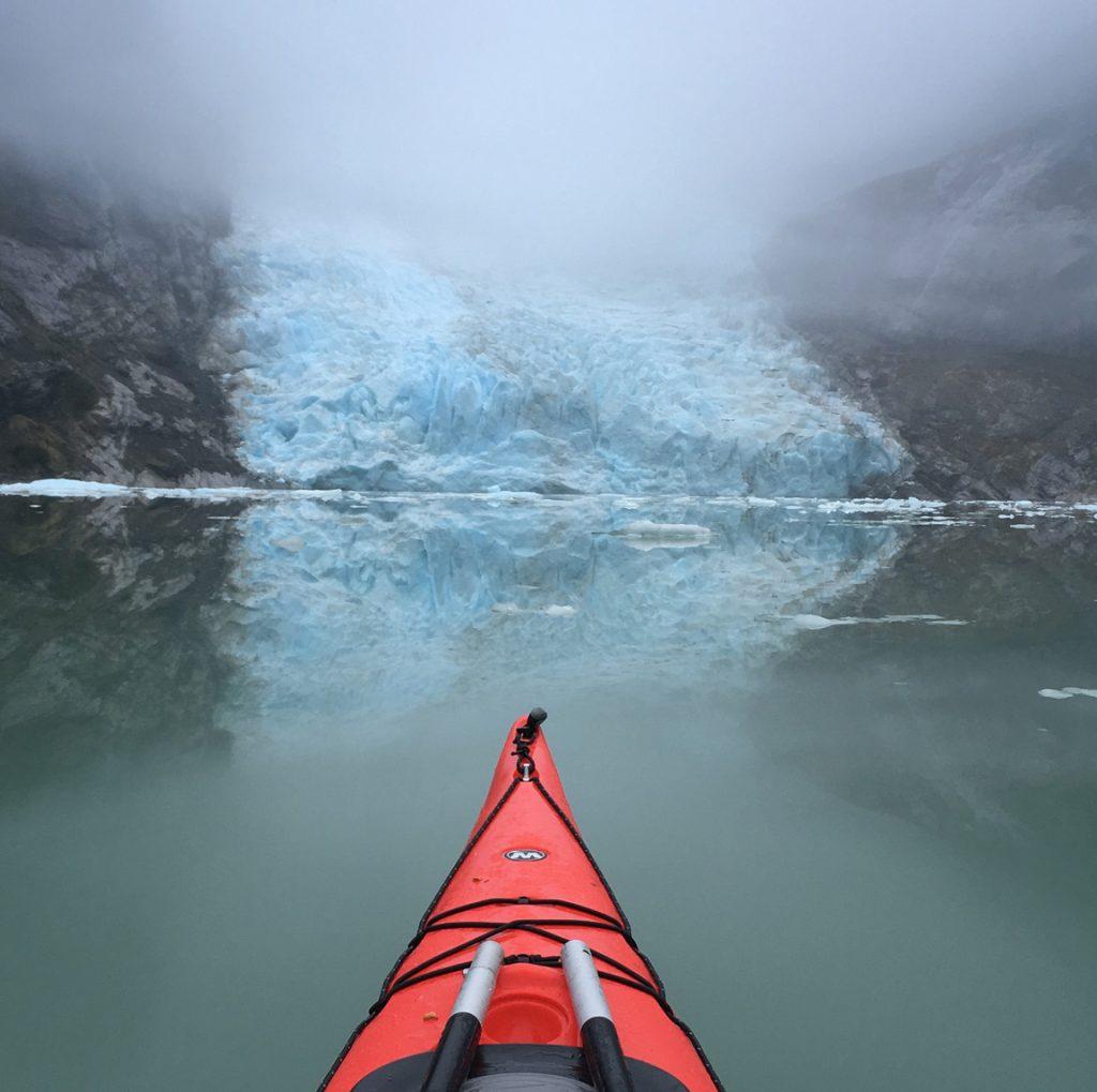 serrano glacier kayak
