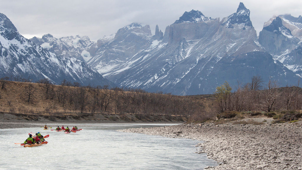 tyndall kayak patagonia expedition