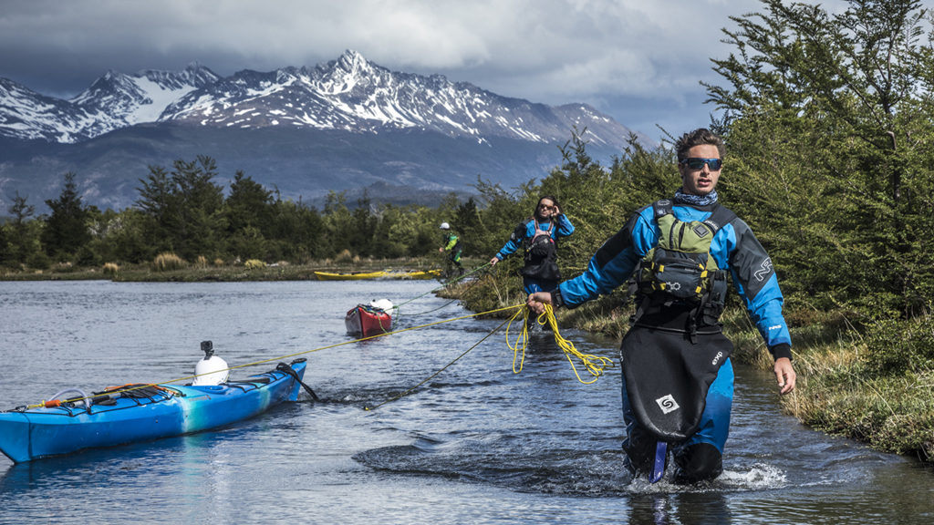tyndall kayak patagonia expedition